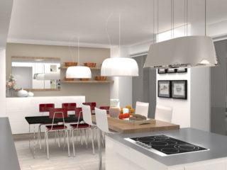 Propositions 3D <br>autour d'une cuisine