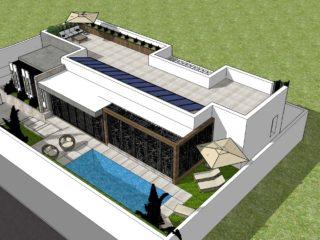 Projets pour une villa <br>de vacances au Brésil