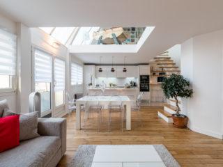 Restructuration complète d'un Duplex - Paris 14ème