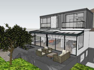 Rénovation et extension <br>d'un pavillon