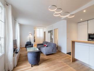 Restructuration d'un appartement 3 pièces - Paris 8ème