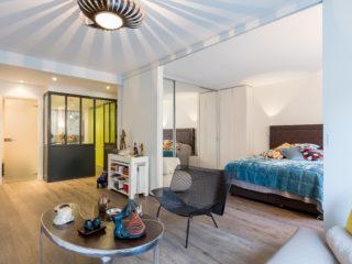 Décloisonnement d'un appartement mal agencé Paris 7ème